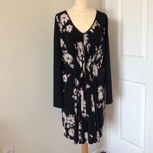 Simply Vera Vera Wang Floral Dress Size XL